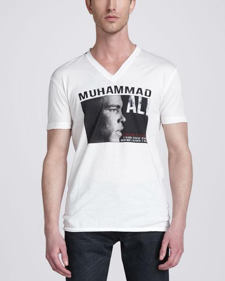 Muhammad Ali Screen Print Tee