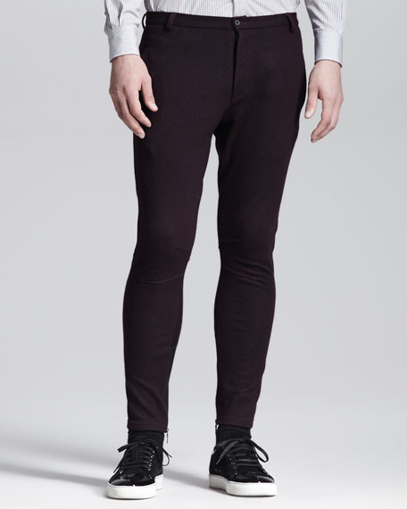 Slim Jersey Biker Pants