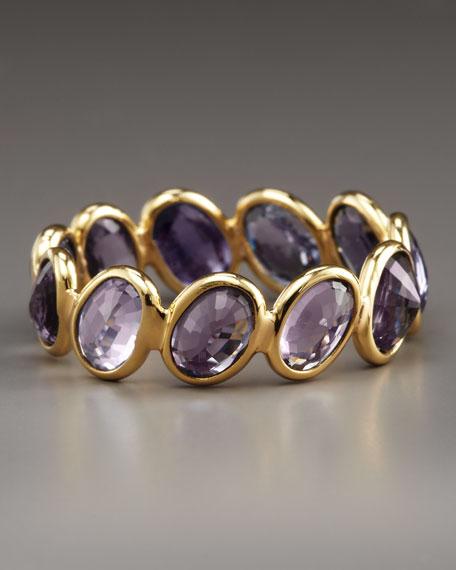 Sapphire Ombre Ring, Purple
