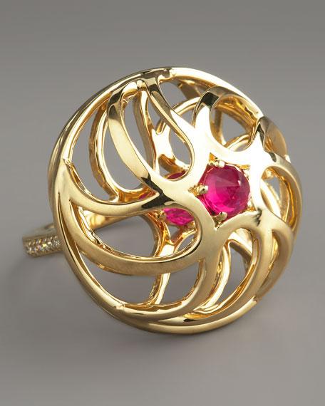 Contarini Ruby & Diamond Ring
