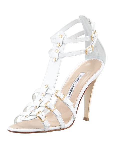 Axez Gladiator Sandal, White