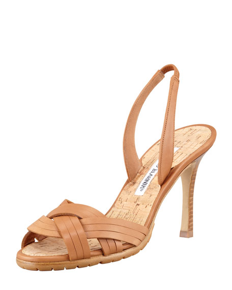 Rancio Halter Sandal, Brown