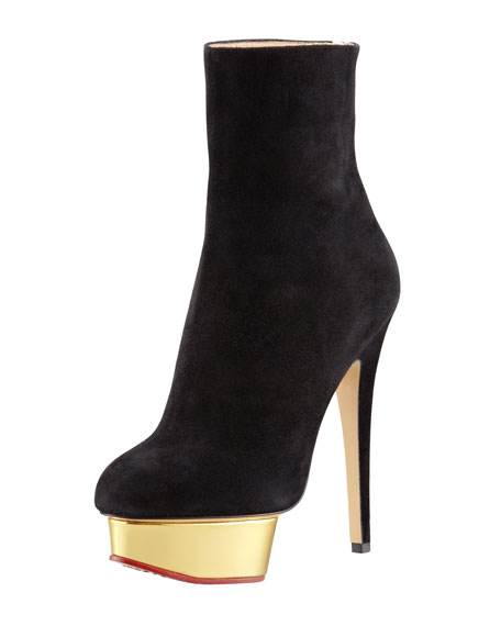 Olympia Suede Charlotte Lucinda Boot Ankle Platform axxZAWzqwp