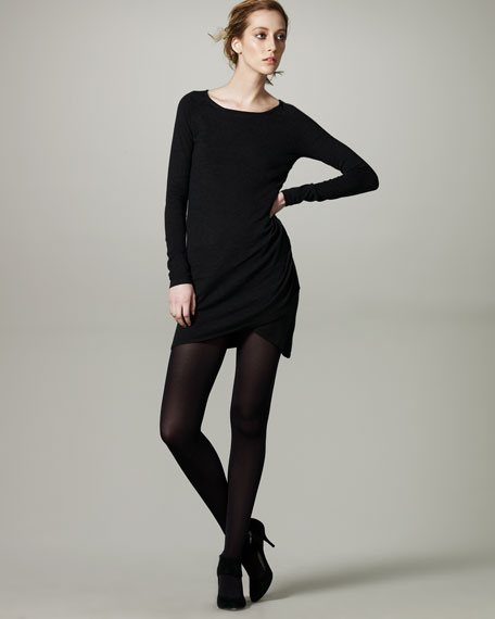 Cutaway Sweater Dress