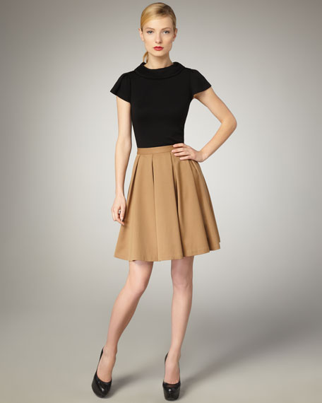 Louise Pleated Skirt