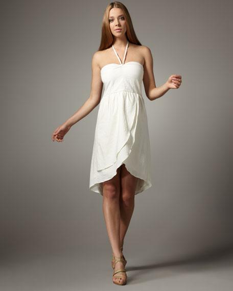 Carmela Antique White Dress
