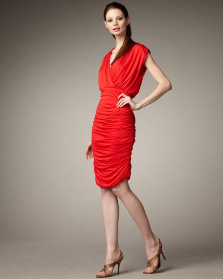 be7842f84 Alice + Olivia Nanette Ruched Dress