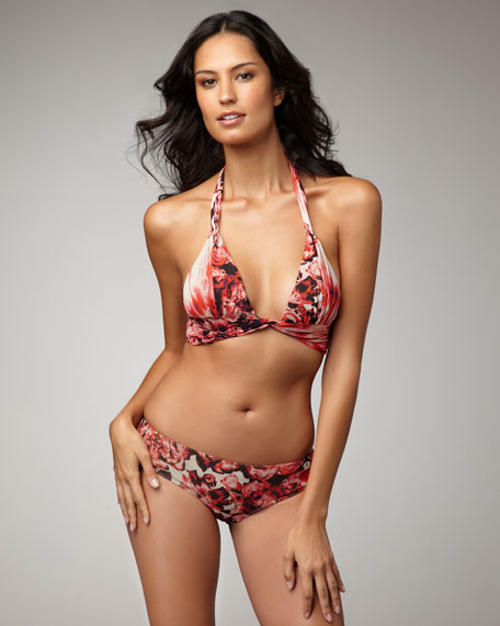 Floral-Print Swimsuit