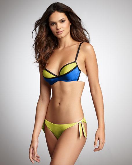 Modern Art Colorblock Bikini