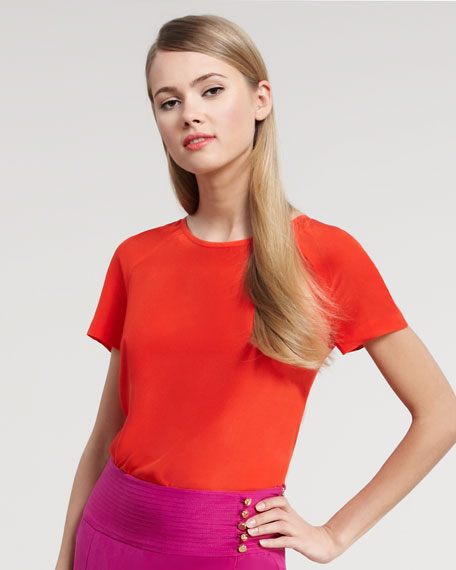 Alexandra Short-Sleeve Blouse