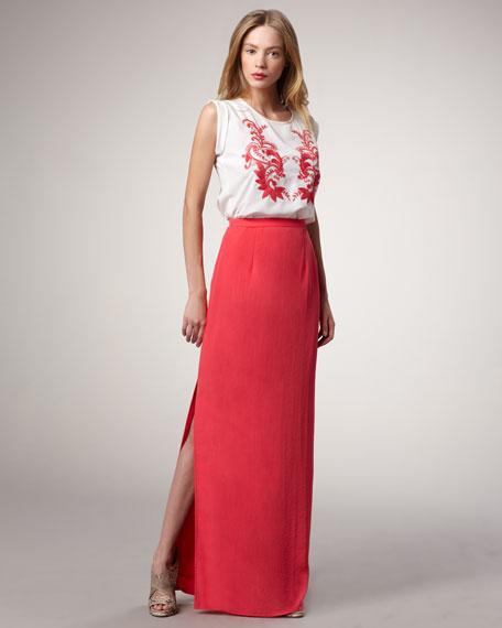 Vreeland Slit Maxi Skirt