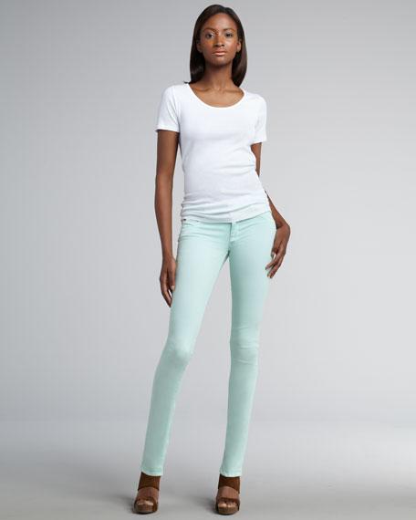 Collin Mint Skinny Jeans