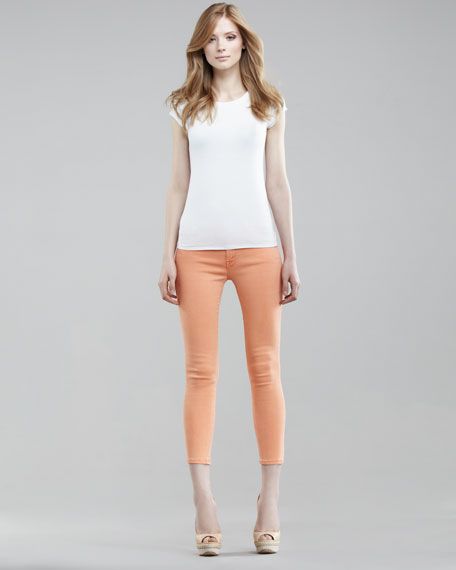 The Looker Cropped Jeans