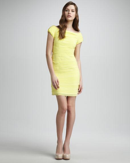 Tiered Sheath Dress