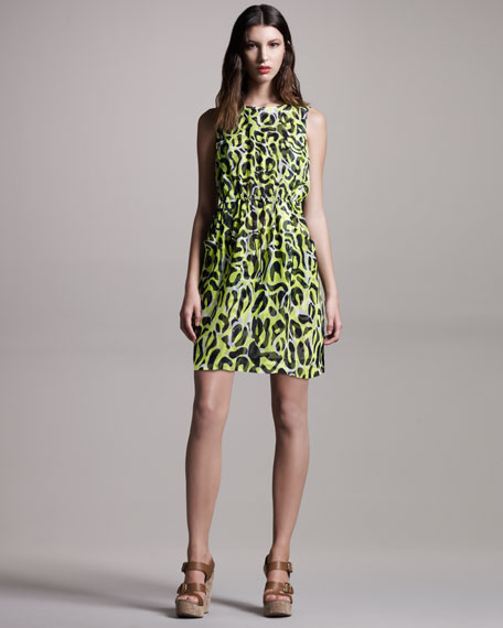 Summer Animal-Print Dress