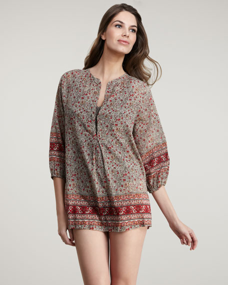 Alanna Printed Coverup