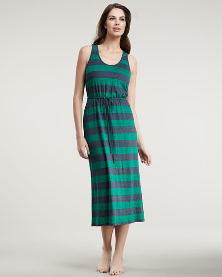 Sevilla Striped Maxi Dress