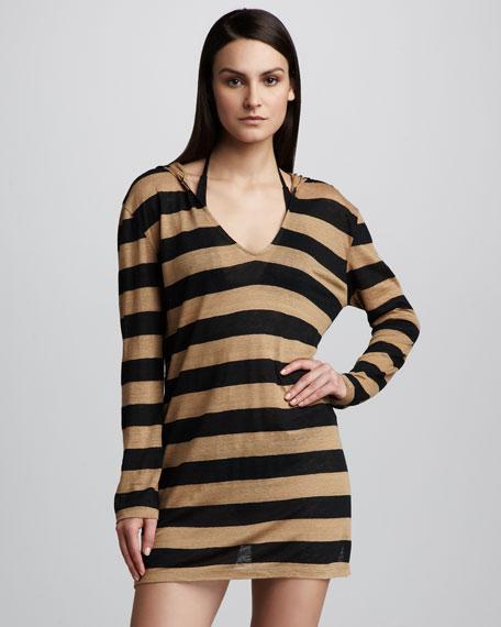 Catreese Striped Caftan