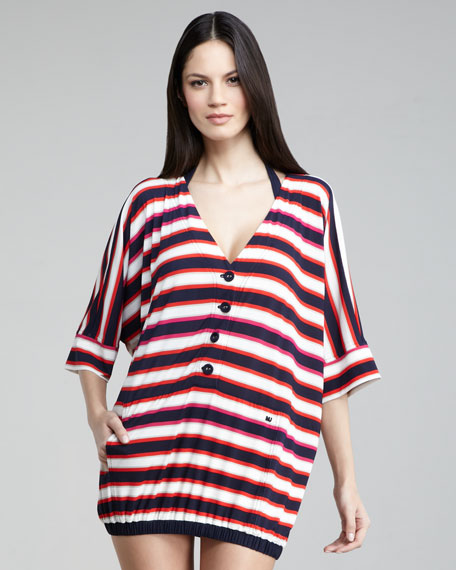 Field Striped Coverup