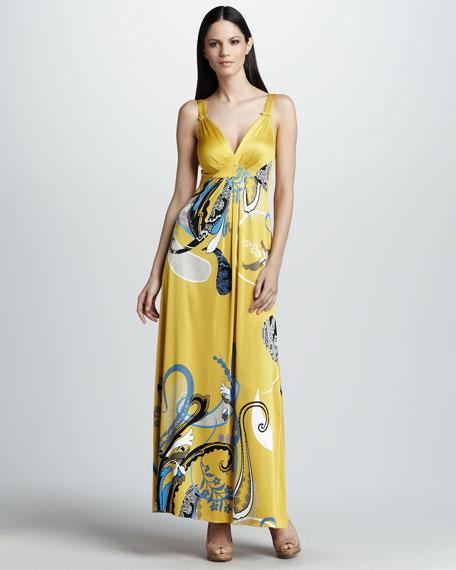 Liz Printed Maxi Dress