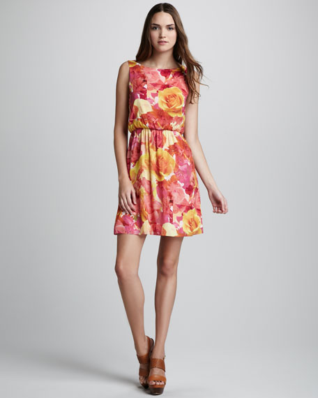Becky Floral-Print Dress