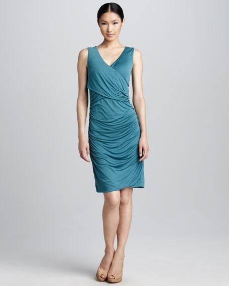 Christie Draped Jersey Dress