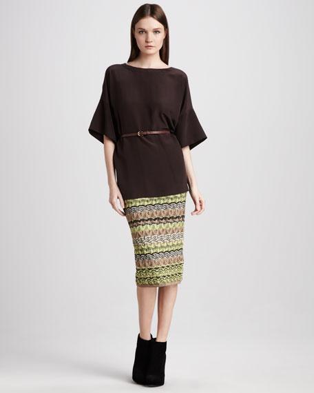 Pointelle Skirt
