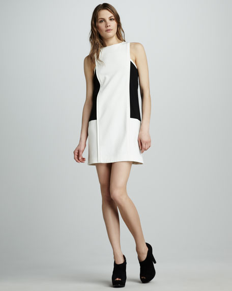 Ponte Colorblock Dress