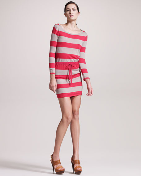 Las Palmas Striped Dress