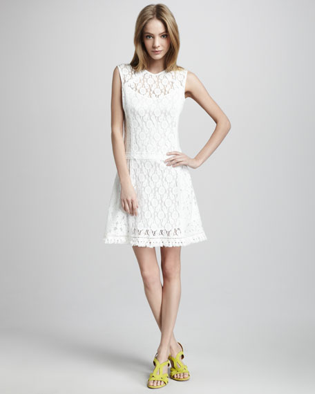 Sunset Boulevard Lace Dress