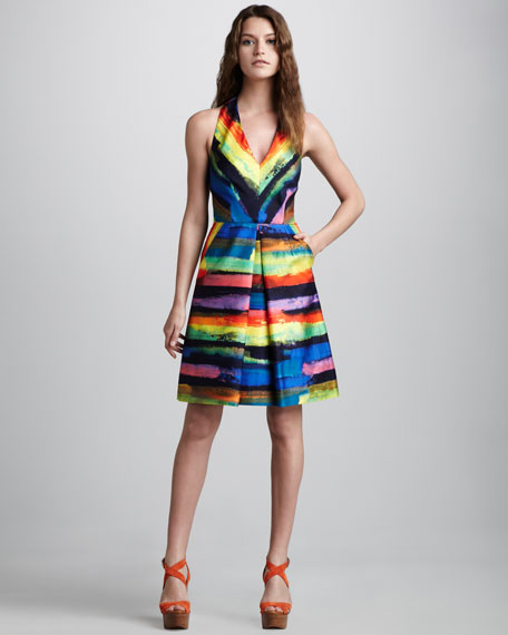 Phoebe Watercolor Dress