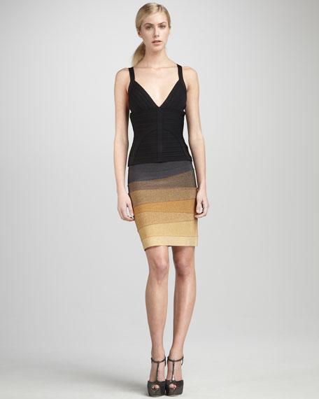 Ombre Bandage Skirt