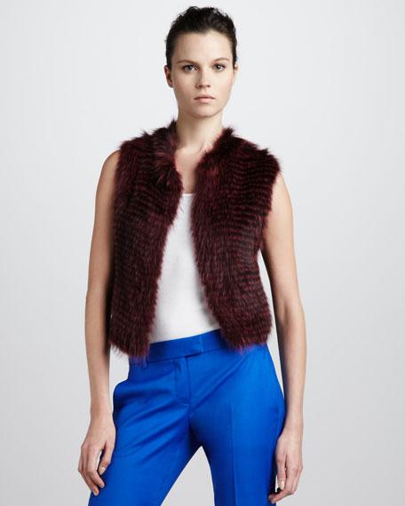Raccoon Vest, Crimson