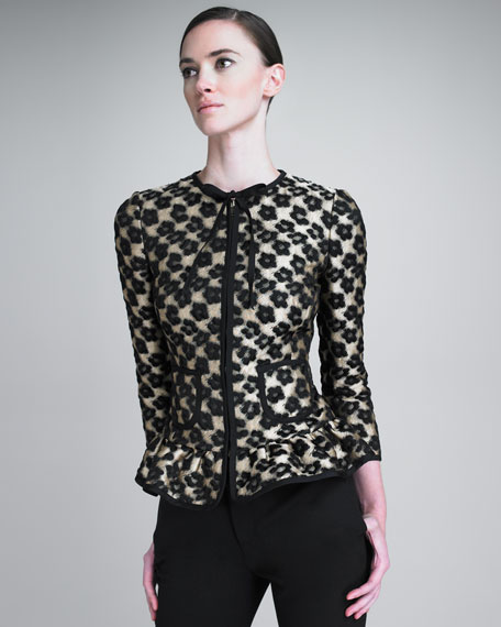 Leopard Flower Jacket