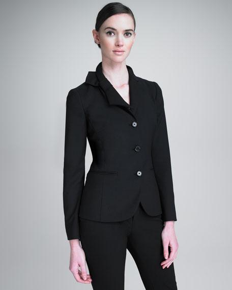 Bow-Lapel Jacket