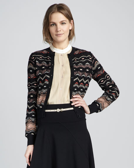 Wave Knit Cardigan