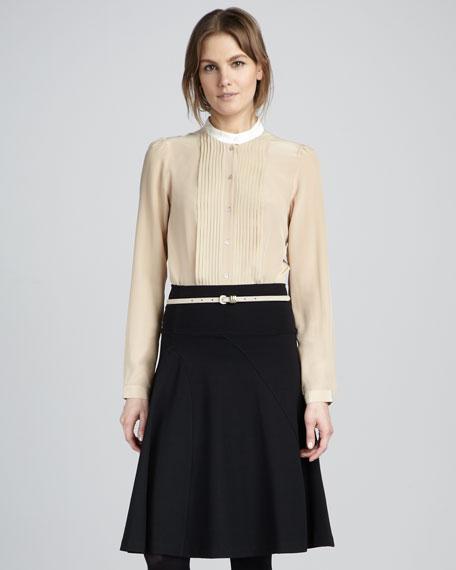 A-Line Ponte Skirt