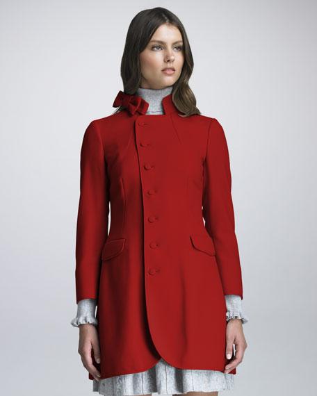 Bow Collar Coat