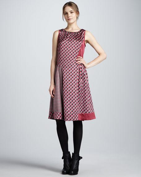 Katya Print Dress
