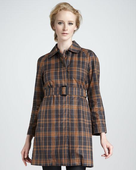 Alexia Plaid Coat