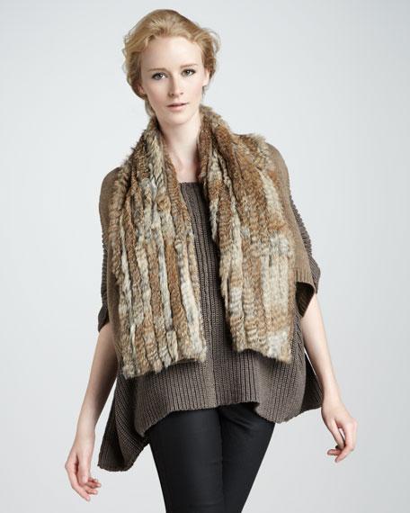 Alice Fur/Knit Vest