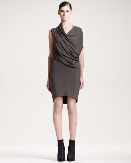 Prism Draped Dress