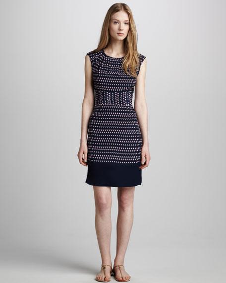 Marlow Banded-Waist Dress