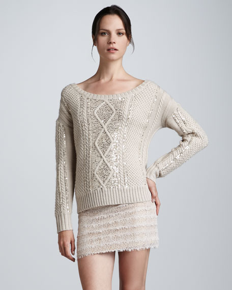 Lace Miniskirt