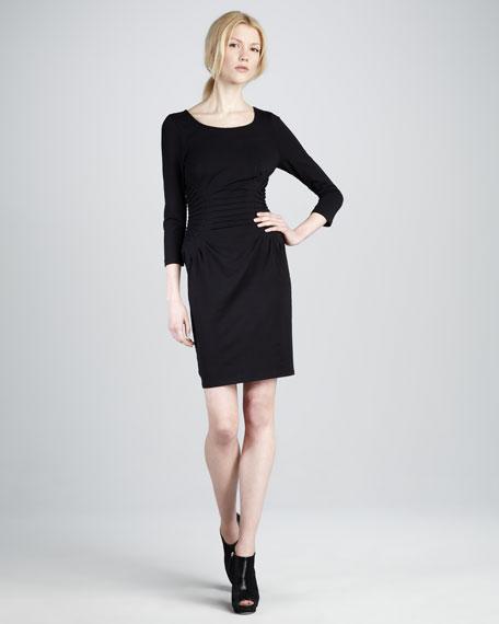 Ruch-Waist Jersey Dress
