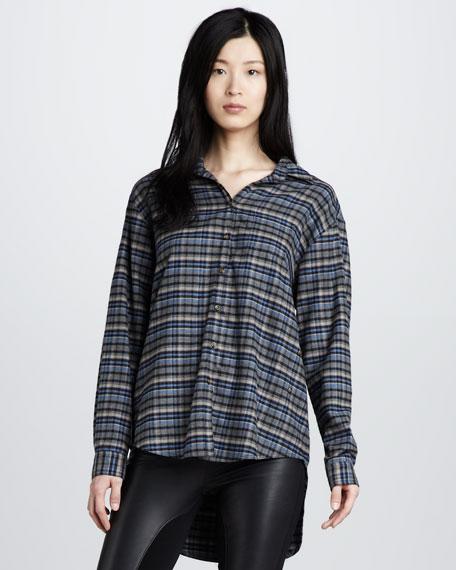 High-Low Boyfriend Shirt
