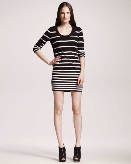Striped Sara Dress