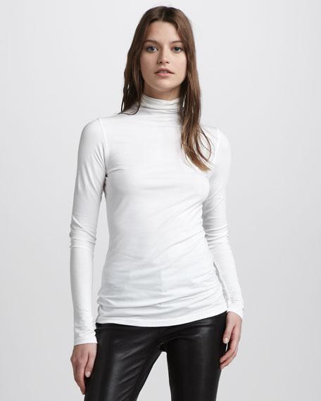 Favorite Turtleneck, White