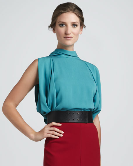 Karella Scarf-Neck Top