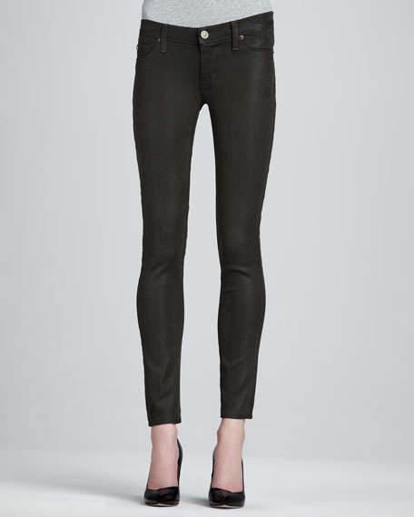 Krista Fern Waxed Super Skinny Jeans